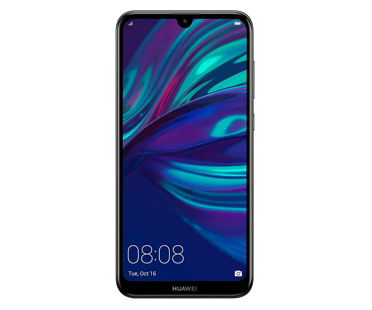 HUAWEI Y7 2019 NEGRO MÓVIL 4G DUAL SIM 6.26'' IPS HD+/8CORE/32GB/3GB RAM/13MP+2MP/8MP