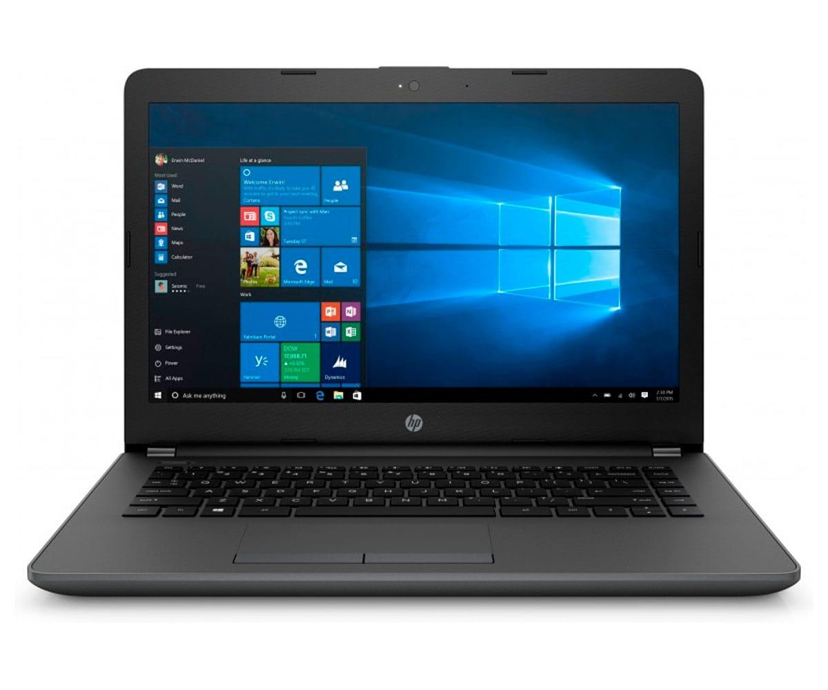 HP 240 G6 PORTÁTIL NEGRO 14 LCD WLED HD READY/i5 3.1GHz/256GB/8GB RAM/W10 HOME - HP 240 G6 BLACK