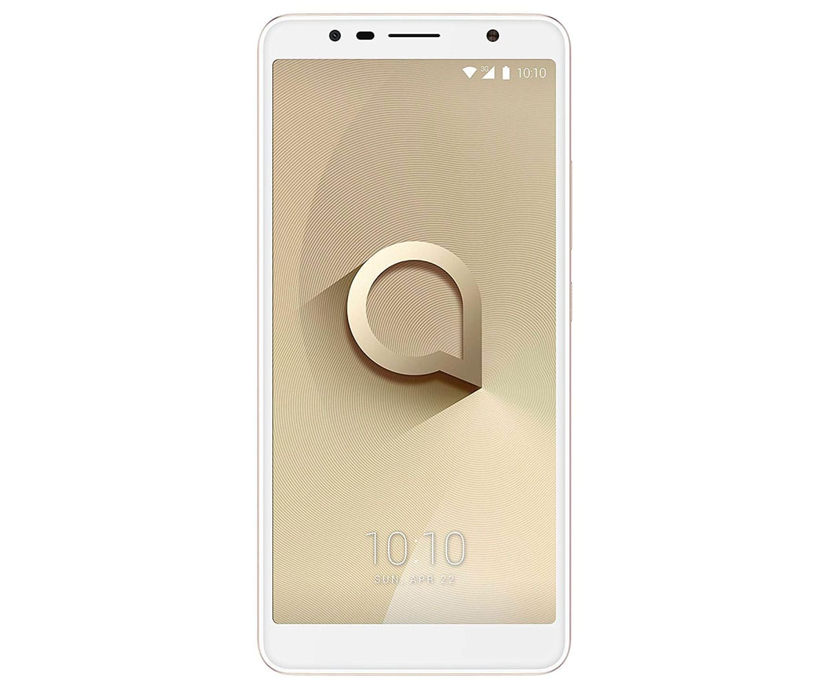 ALCATEL 3C ORO METÁLICO MÓVIL 3G DUAL SIM 6.0 IPS HD+/4CORE/16GB/1GB RAM/13MP/8MP