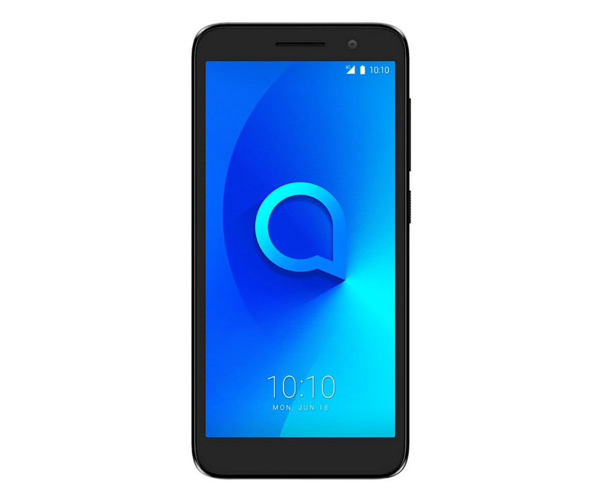 ALCATEL 1 NEGRO METÁLICO MÓVIL 4G DUAL SIM 5.0 FWVGA+/4CORE/8GB/1GB RAM/8MP/5MP - 1 5033D METALIC BLACK