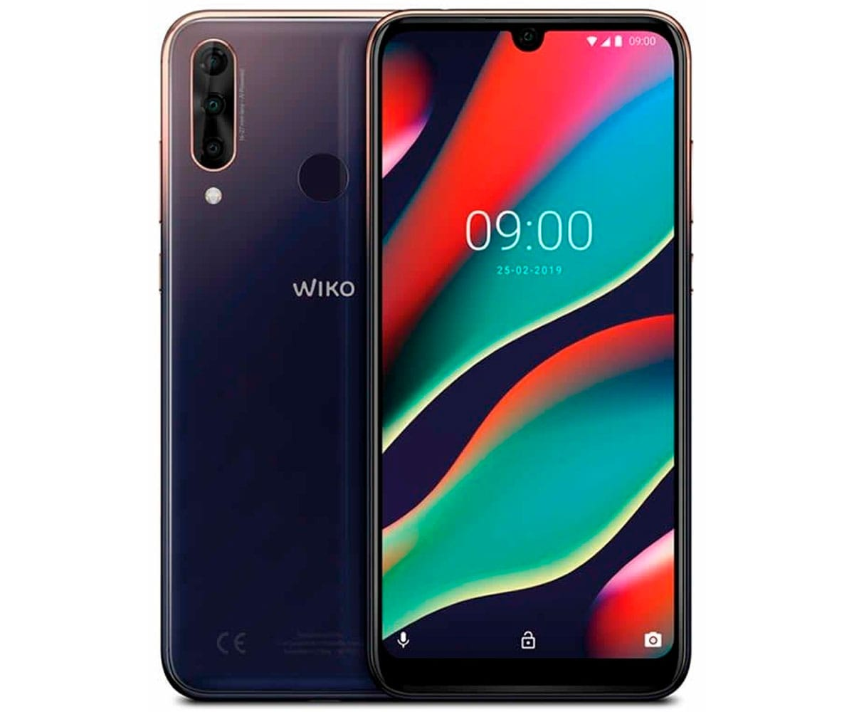 WIKO VIEW3 PRO NIGHTFALL MÓVIL 4G DUAL SIM 6.3 IPS FHD+/8CORE/64GB/4GB RAM/12+5+13MP/16MP