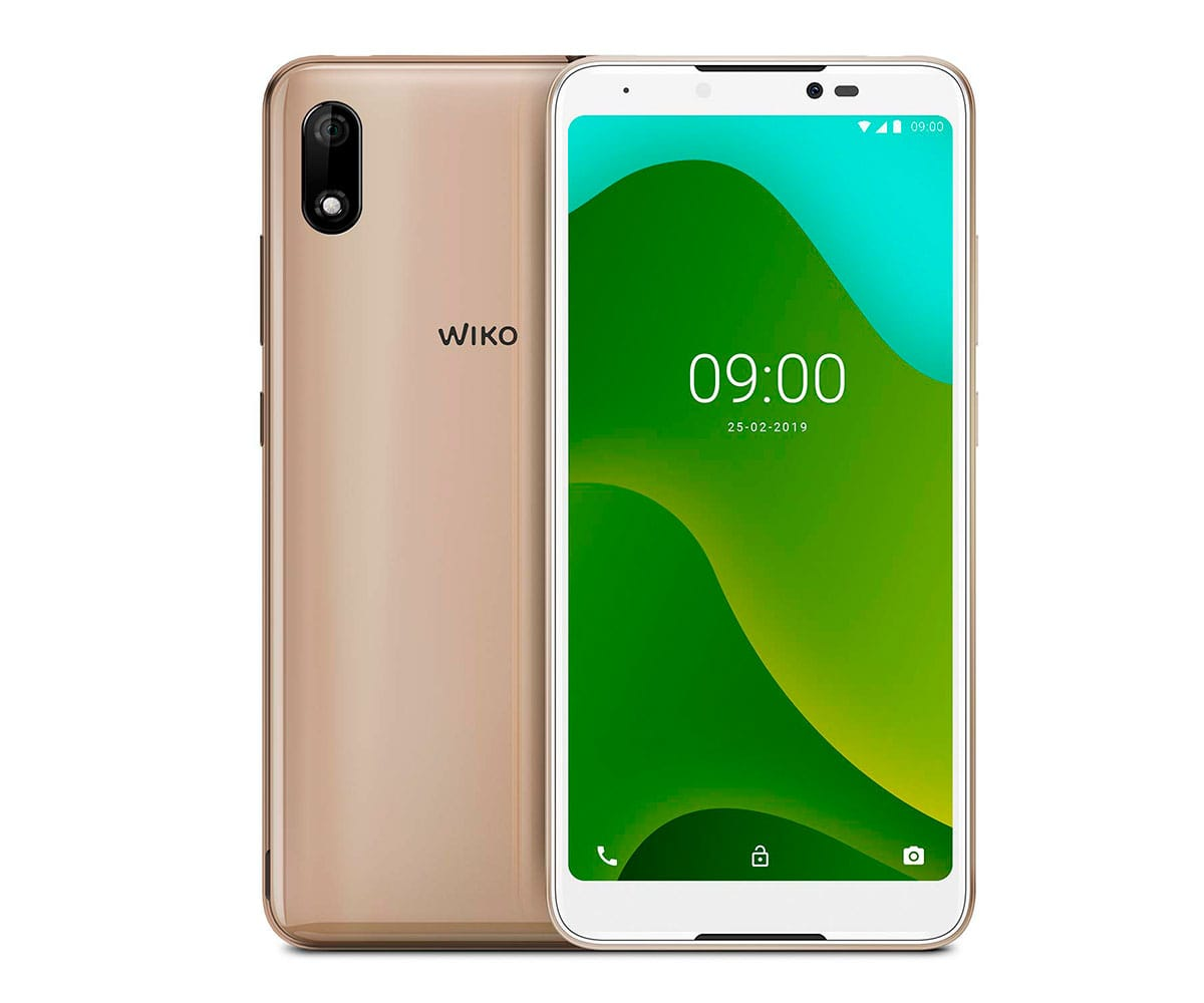WIKO Y70 DORADO MÓVIL 3G DUAL SIM 5.99 TFT HD+/4CORE/16GB/1GB RAM/8MP/5MP