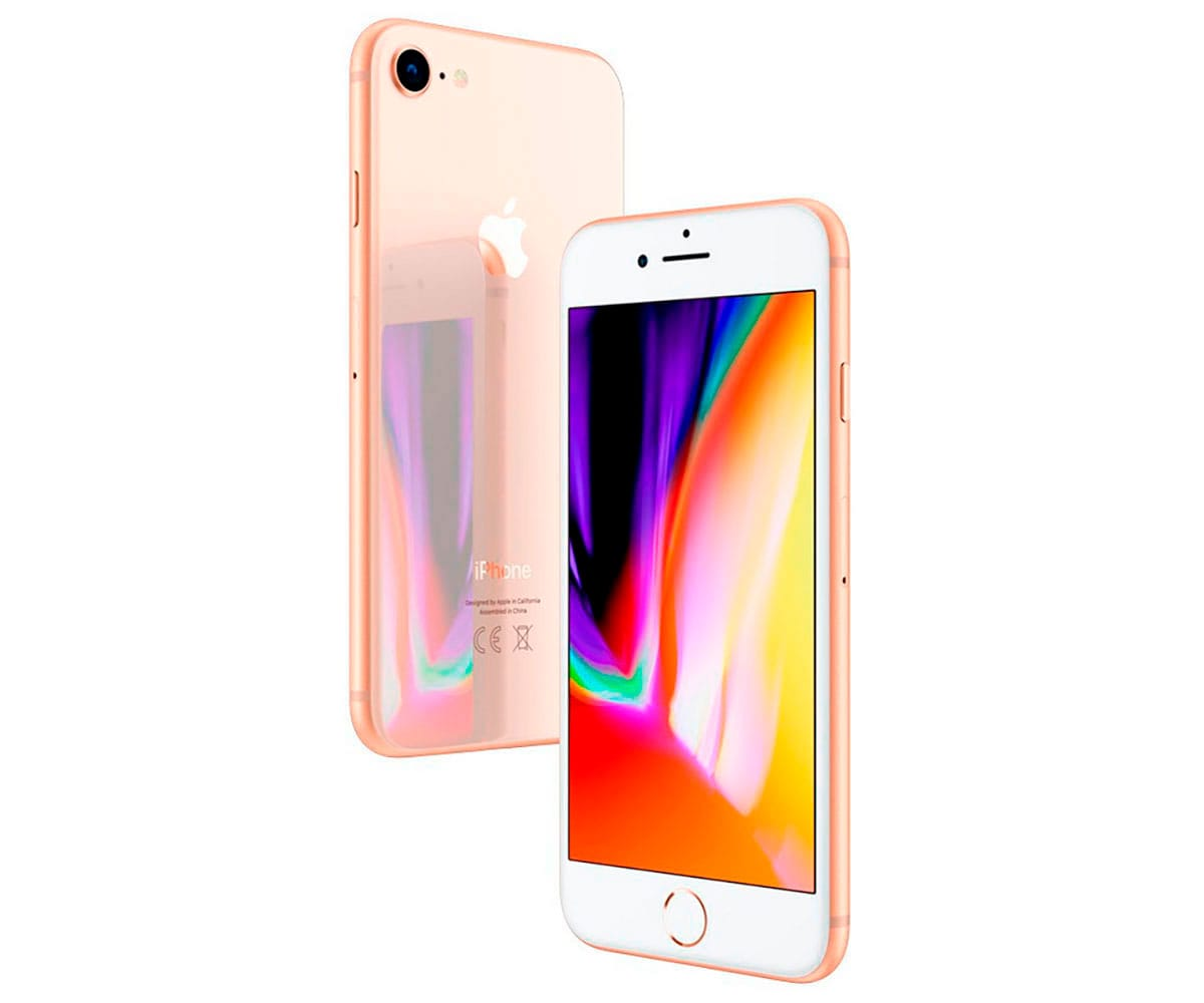 APPLE IPHONE 8 256GB ORO REACONDICIONADO CPO MÓVIL 4G 4.7'' RETINA HD/6CORE/256GB/2GB RAM/12MP/7MP