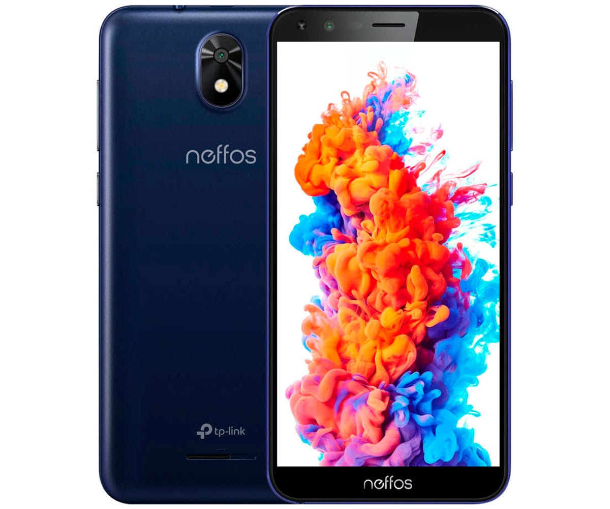 TP-LINK NEFFOS C5 PLUS 8GB AZUL MÓVIL 3G DUAL SIM 5.34'' FWVGA+/4CORE/8GB/1GB RAM/5MP/2MP
