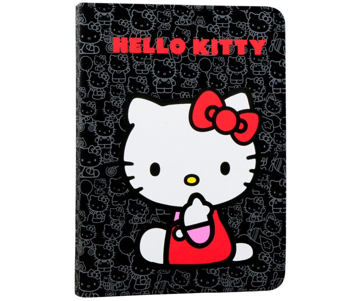 E-VITTA HELLO KITTY BOOKLET NEGRO FUNDA UNIVERSAL E-BOOK 6''