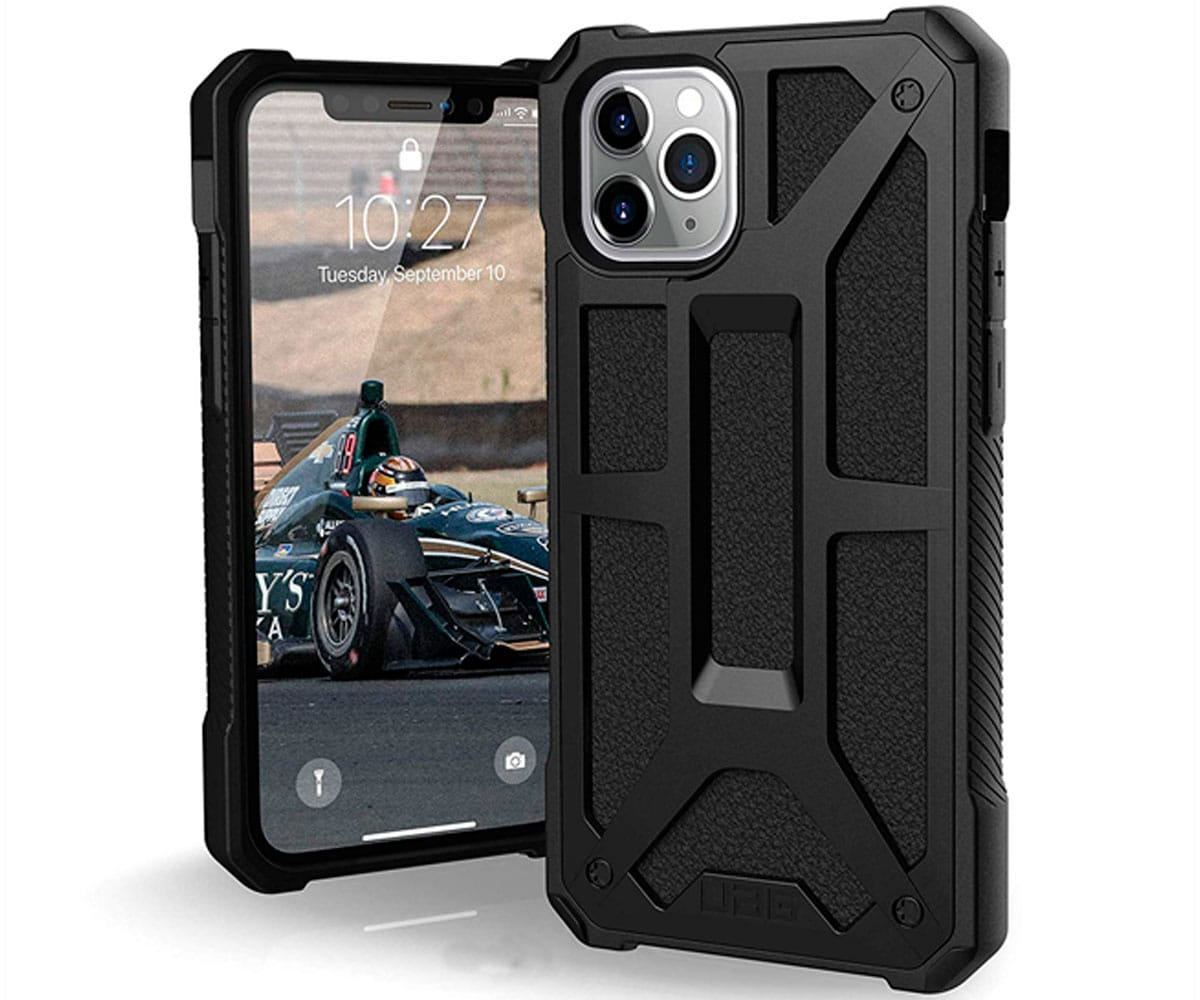 UAG MONARCH NEGRO CARCASA IPHONE 11 PRO RESISTENTE