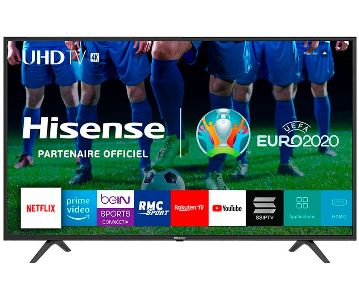 HISENSE H43B7100 TELEVISOR 43'' LCD DIRECT LED UHD 4K 1400Hz SMART TV WIFI CI+ HDMI USB REPRODUCTOR MULTIMEDIA