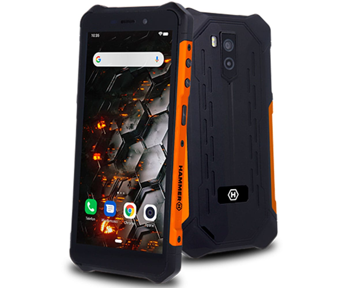 MYPHONE HAMMER IRON 3 NARANJA MÓVIL 3G RESISTENTE IP68 DUAL SIM 5.5'' IPS HD/4CORE/16GB/1GB RAM/8MP/5MP