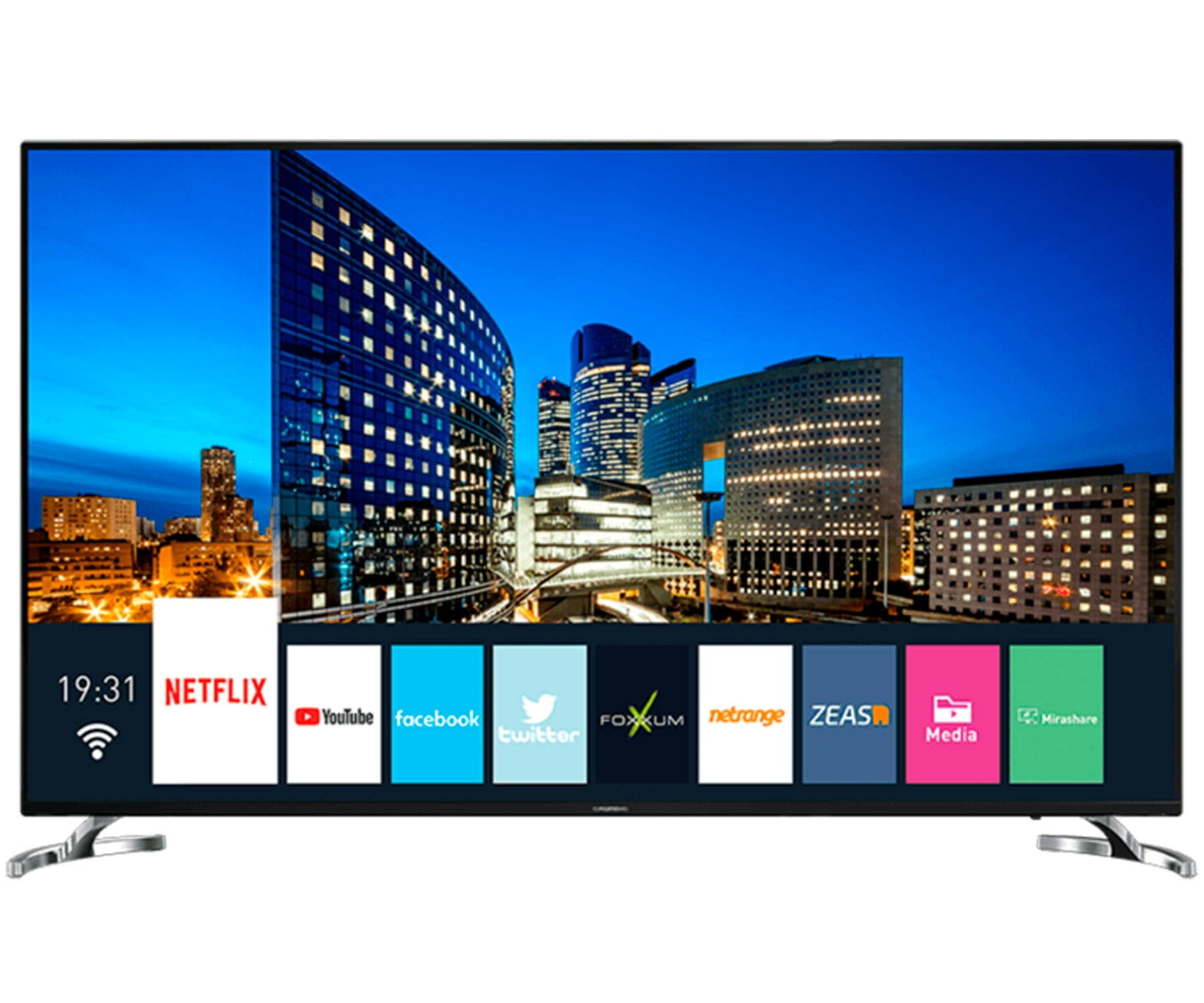 GRUNDIG 75VLX7860 TELEVISOR 75'' LCD LED 4K UHD HDR 1400Hz SMART TV WIFI LAN HDMI USB CI+