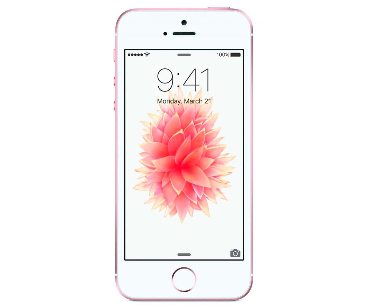 APPLE IPHONE SE 16GB ORO ROSA MÓVIL 4G 4/2CORE/16GB/2GB RAM/12MP - IPHONE SE 16GB ORO ROSA