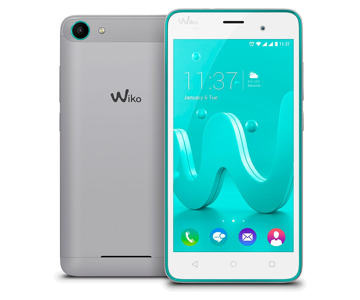 WIKO JERRY TURQUESA/PLATA MÓVIL 3G DUAL SIM 5'' IPS/4CORE/8GB/1GB RAM/5MP/2MP