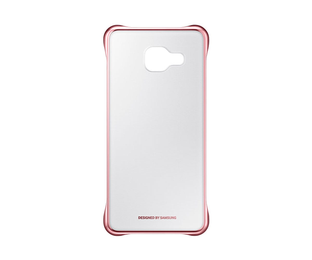 SAMSUNG FUNDA ROSA CLEAR COVER GALAXY A5 (2016)