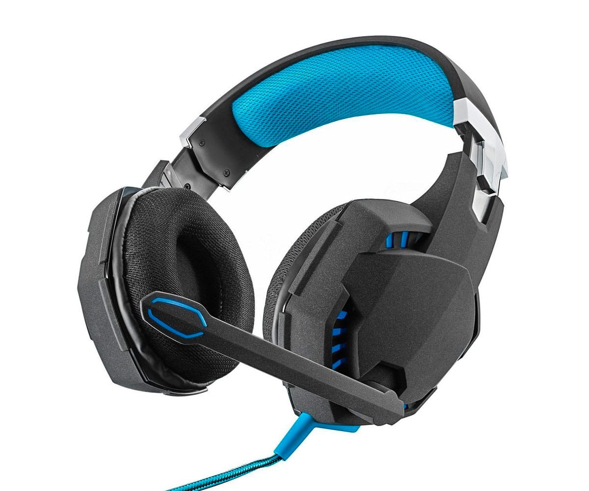 TRUST GXT 363 7.1 BASS 7.1 AURICULARES GAMING CON SONIDO ENVOLVENTE Y LED - GXT 363 7.1 BASS