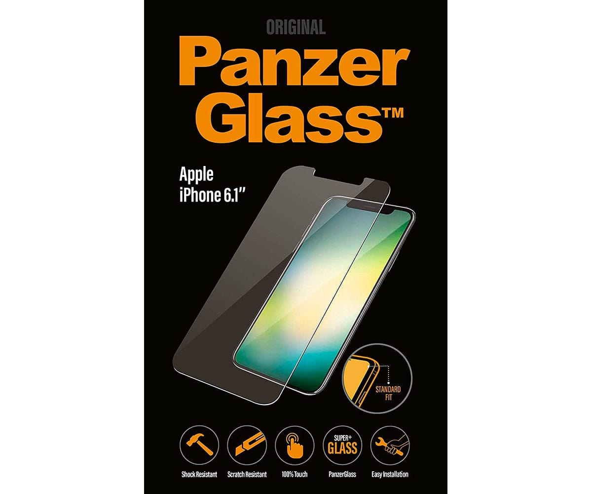 PANZERGLASS PROTECTOR CRISTAL ULTRARESISTENTE IPHONE XR - STANDAR FIT IPHONE XR