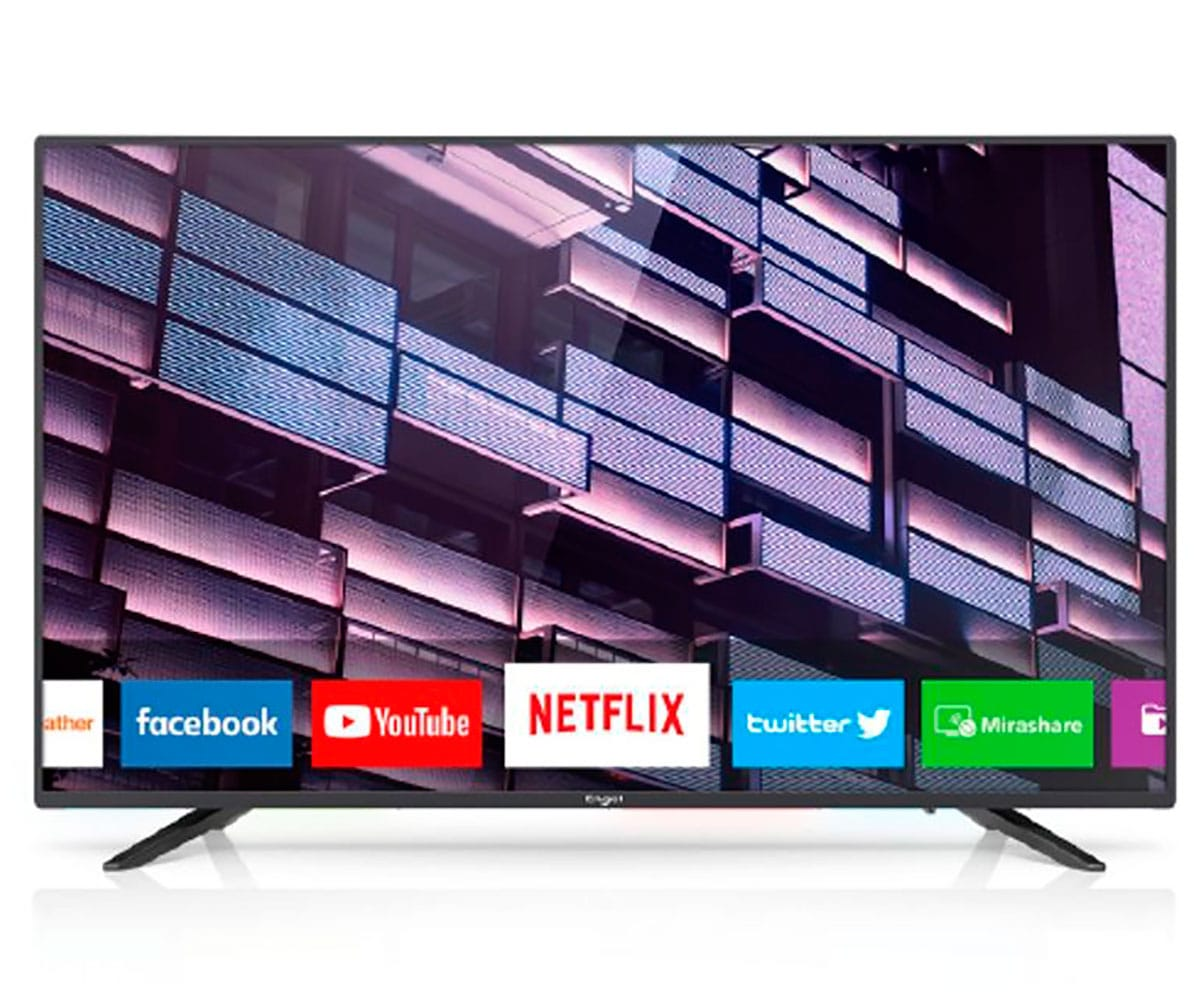 ENGEL 40LE4080SM TELEVISOR 40 LCD LED FULL HD SMART TV WIFI HDMI USB GRABADOR Y REPRODUCTOR MULTIM - 40LE4080SM
