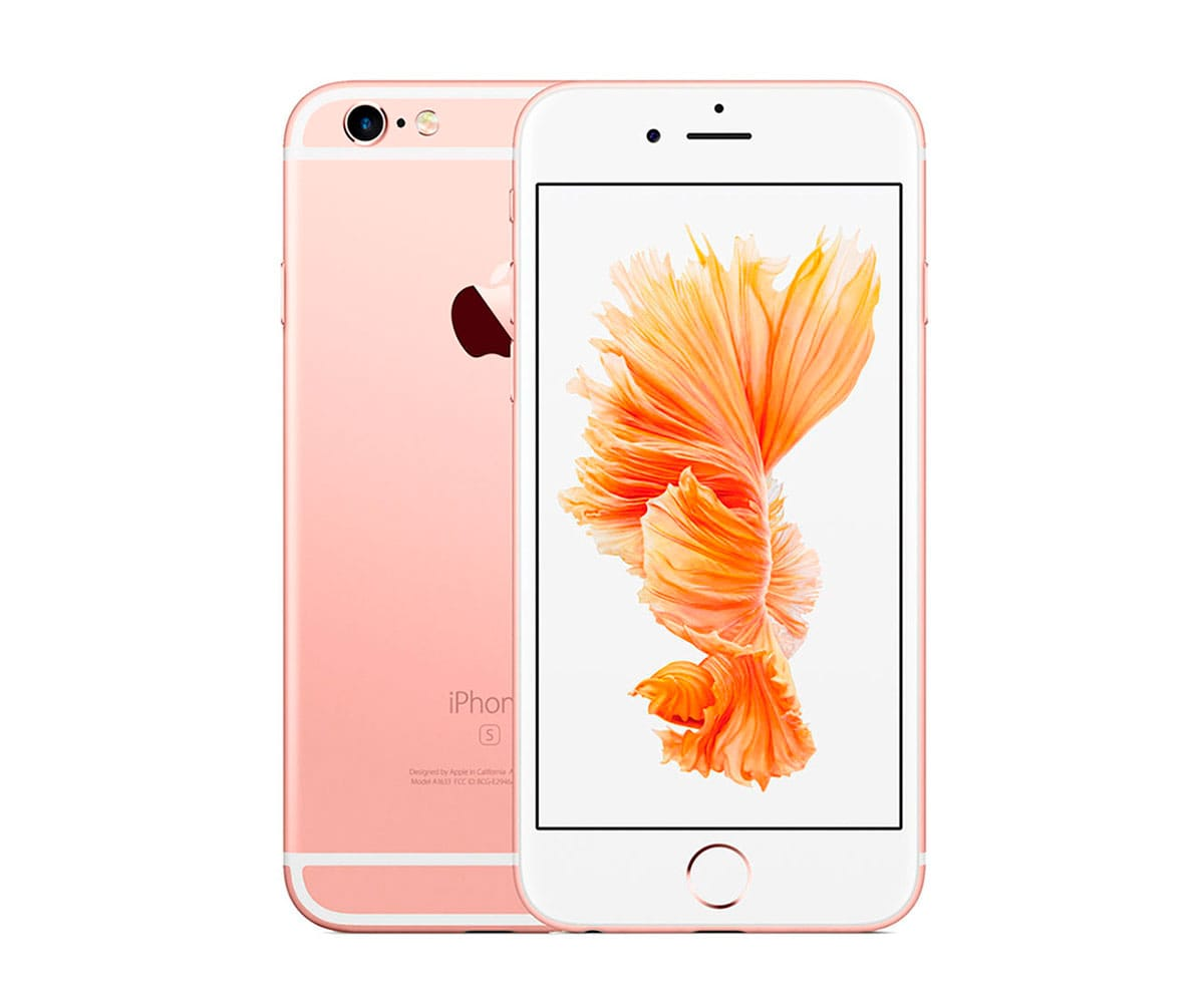 APPLE IPHONE 6S 16GB ORO ROSA REACONDICIONADO CPO MÓVIL 4G 4.7 RETINA HD/2CORE/16GB/2GB RAM/12MP/5