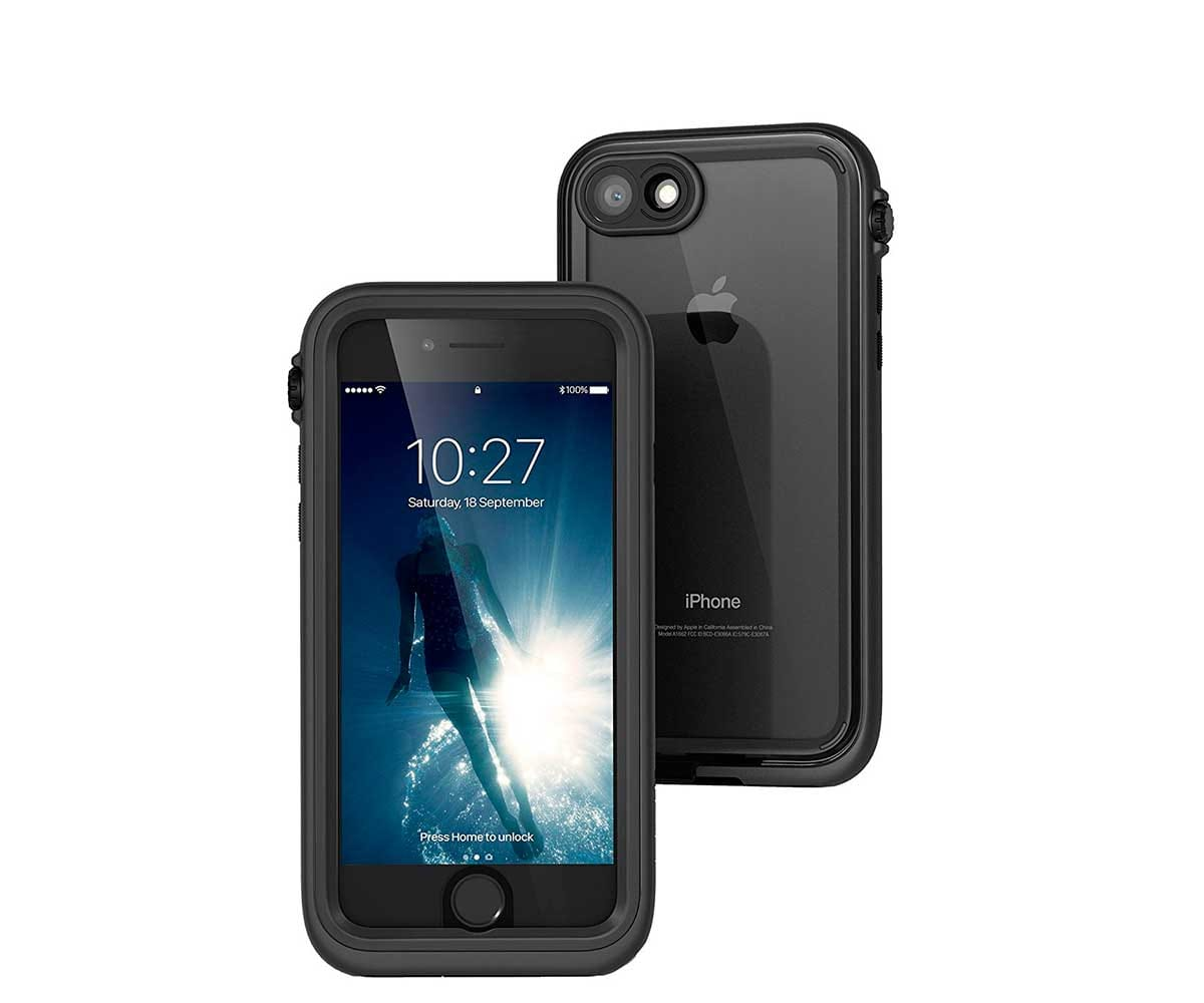 CATALYST CARCASA NEGRA RESISTENTE AL AGUA IPHONE 7
