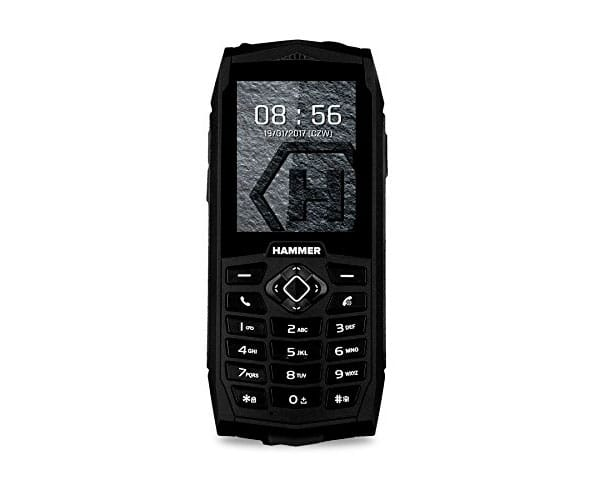 MYPHONE HAMMER 3 NEGRO MÓVIL RESISTENTE IP68 DUAL SIM 2.4 TFT CÁMARA VGA BLUETOOTH RADIO FM