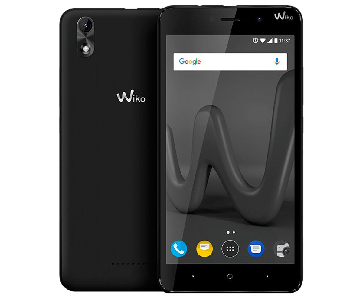 WIKO LENNY4 PLUS NEGRO MÓVIL 3G DUAL SIM 5.5 IPS HD/4CORE/16GB/1GB RAM/8MP/5MP - LENNY4 PLUS NEGRO