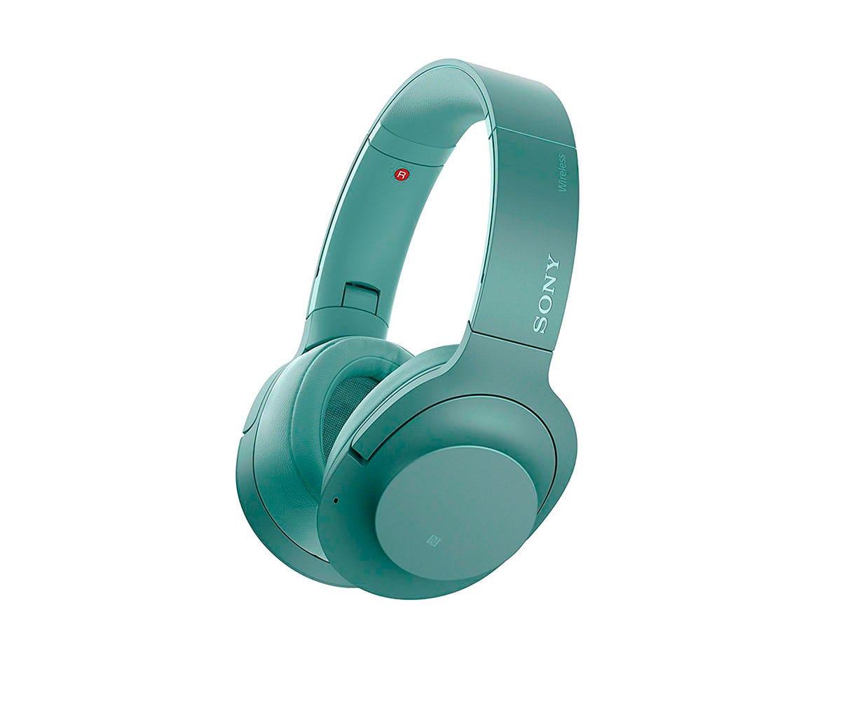 SONY WHH900NG VERDE AURICULARES BLUETOOTH NFC NOISE CANCELLING AUDIO DE ALTA RESOLUCIÓN - WHH900NG