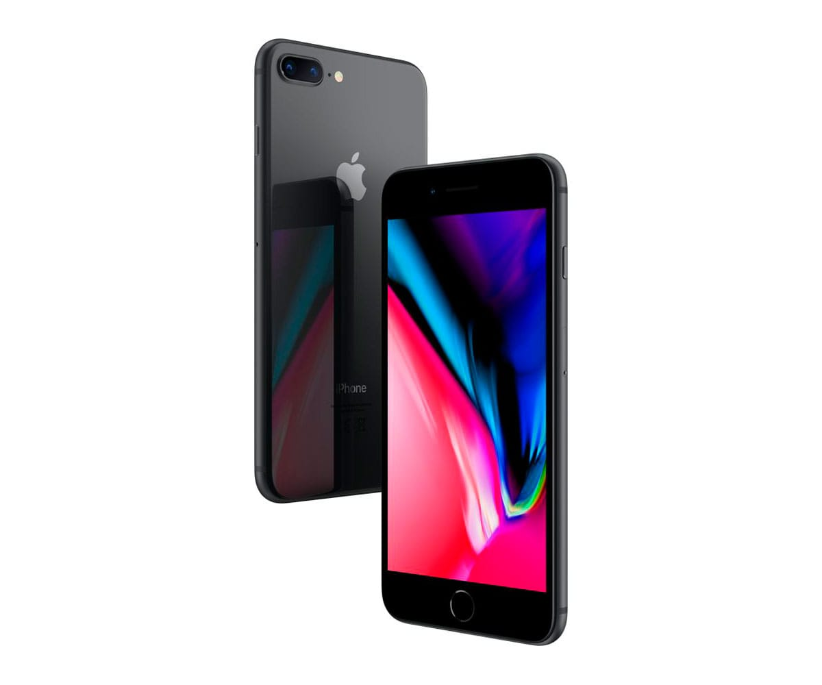 APPLE IPHONE 8 PLUS 64GB GRIS ESPACIAL MÓVIL 4G 5.5 RETINA FHD/6CORE/64GB/3GB RAM/12MP+12MP/7MP - IPHONE 8 PLUS 64GB GRIS ESPACIAL