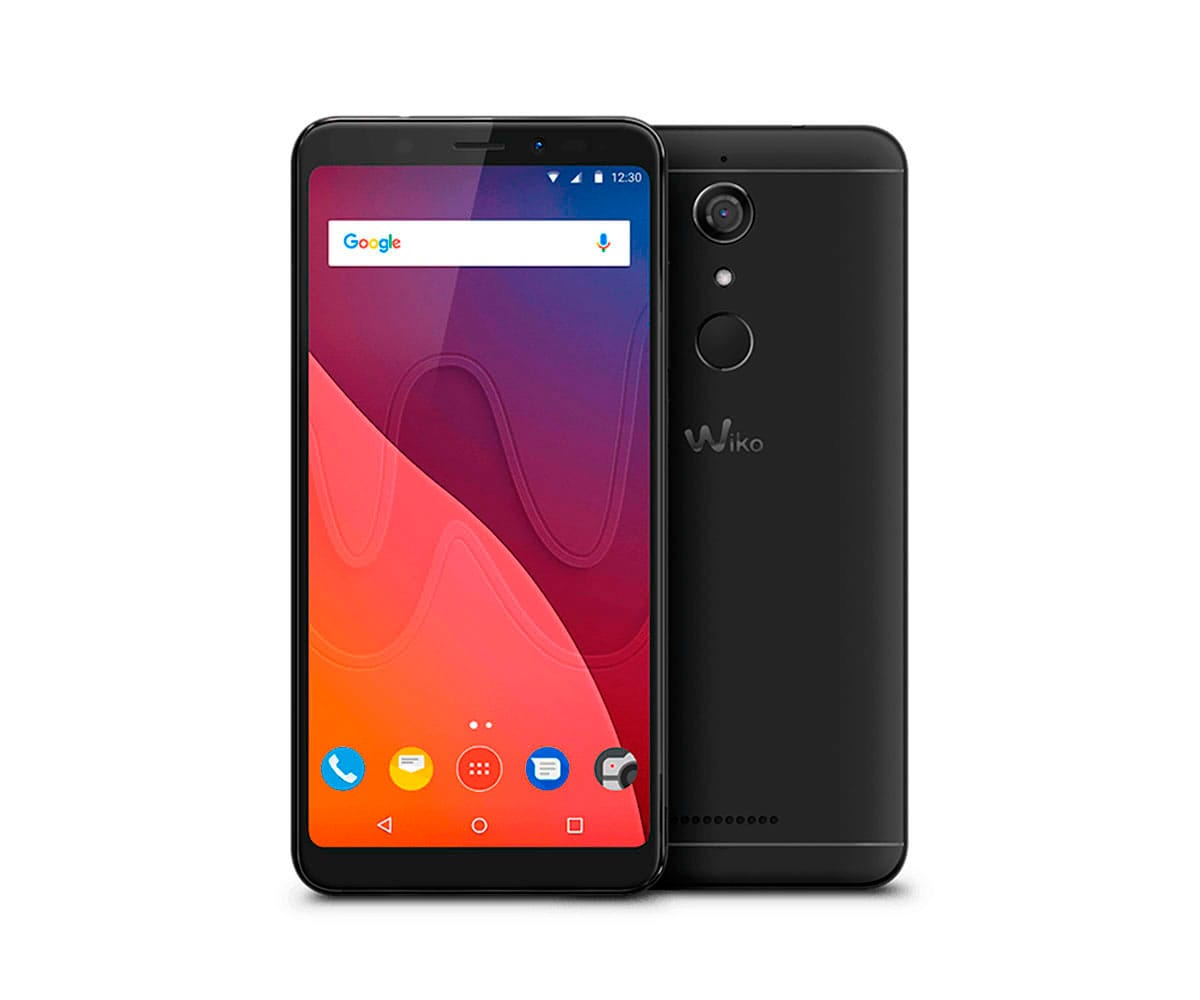 WIKO VIEW NEGRO MÓVIL 4G DUAL SIM 5.7 IPS HD+/4CORE/32GB/3GB RAM/13MP/16MP