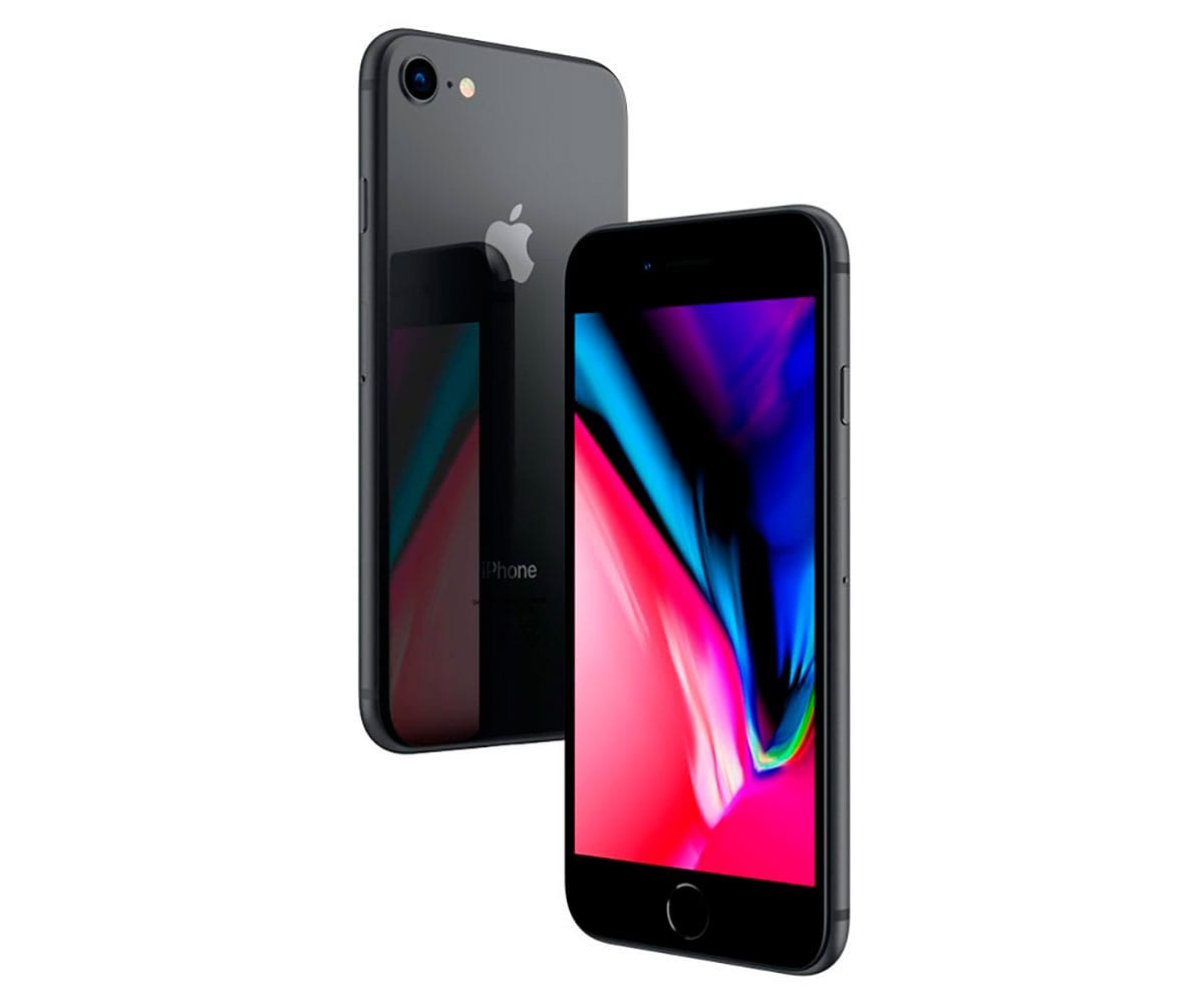 APPLE IPHONE 8 256GB GRIS ESPACIAL MÓVIL 4G 4.7 RETINA HD/6CORE/256GB/2GB RAM/12MP/7MP -