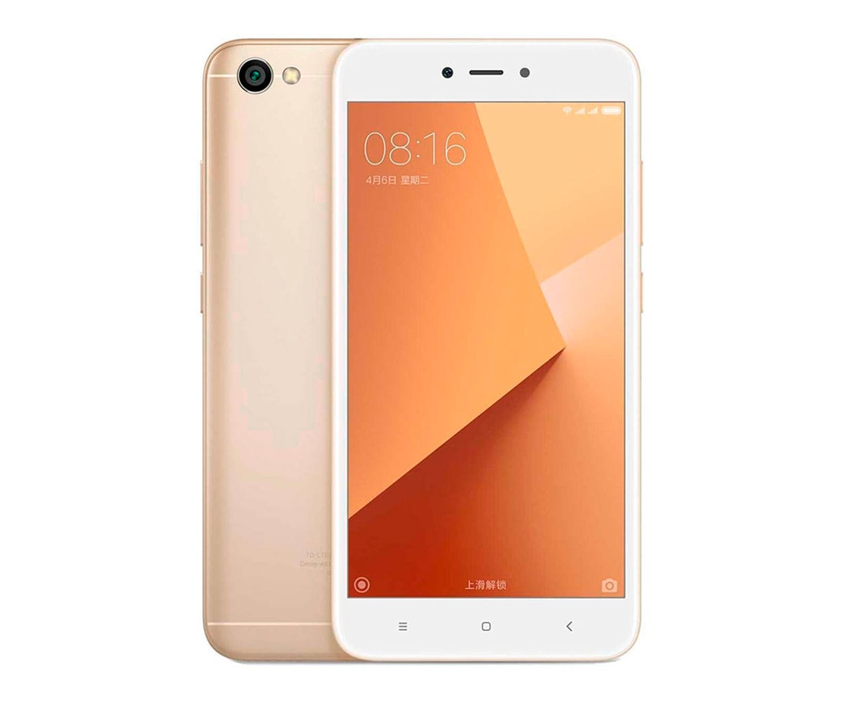 XIAOMI REDMI 5A DORADO MÓVIL 4G DUAL SIM 5'' IPS HD/4CORE/16GB/2GB RAM/13MP/5MP