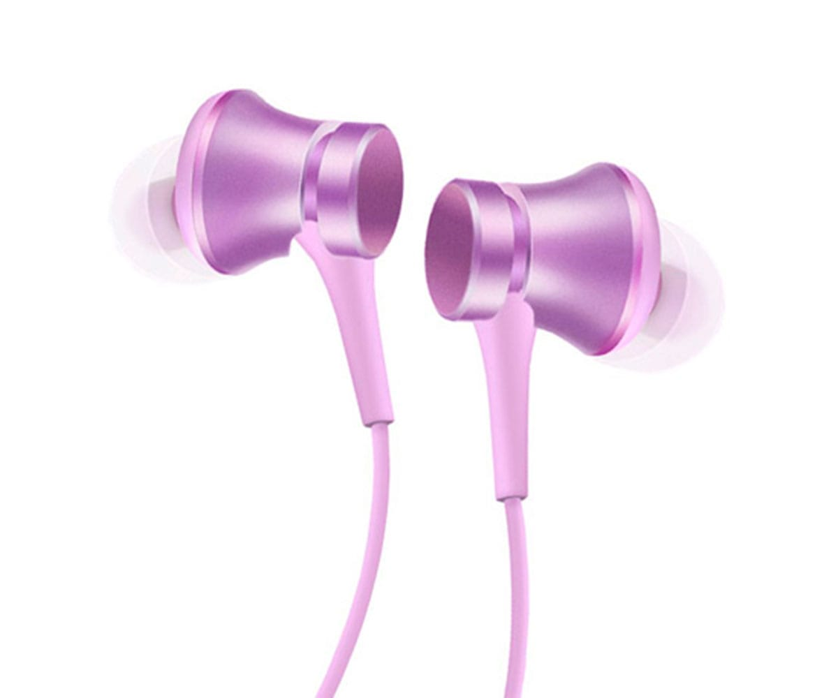 XIAOMI PISTON IN-EAR VIOLETA MATE AURICULARES ELEGANTES Y ERGONÓMICOS - PISTON IN-EAR VIOLETA