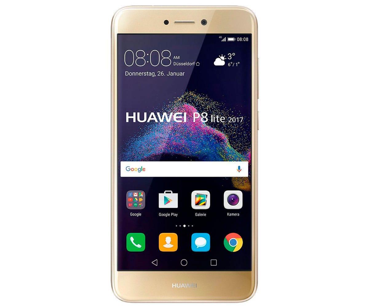 HUAWEI P8 LITE (2017) DORADO MÓVIL 4G DUAL SIM 5.2 IPS FHD/8CORE/16GB/3GB RAM/12MP/8MP - P8 LITE 2017 DORADO IMP