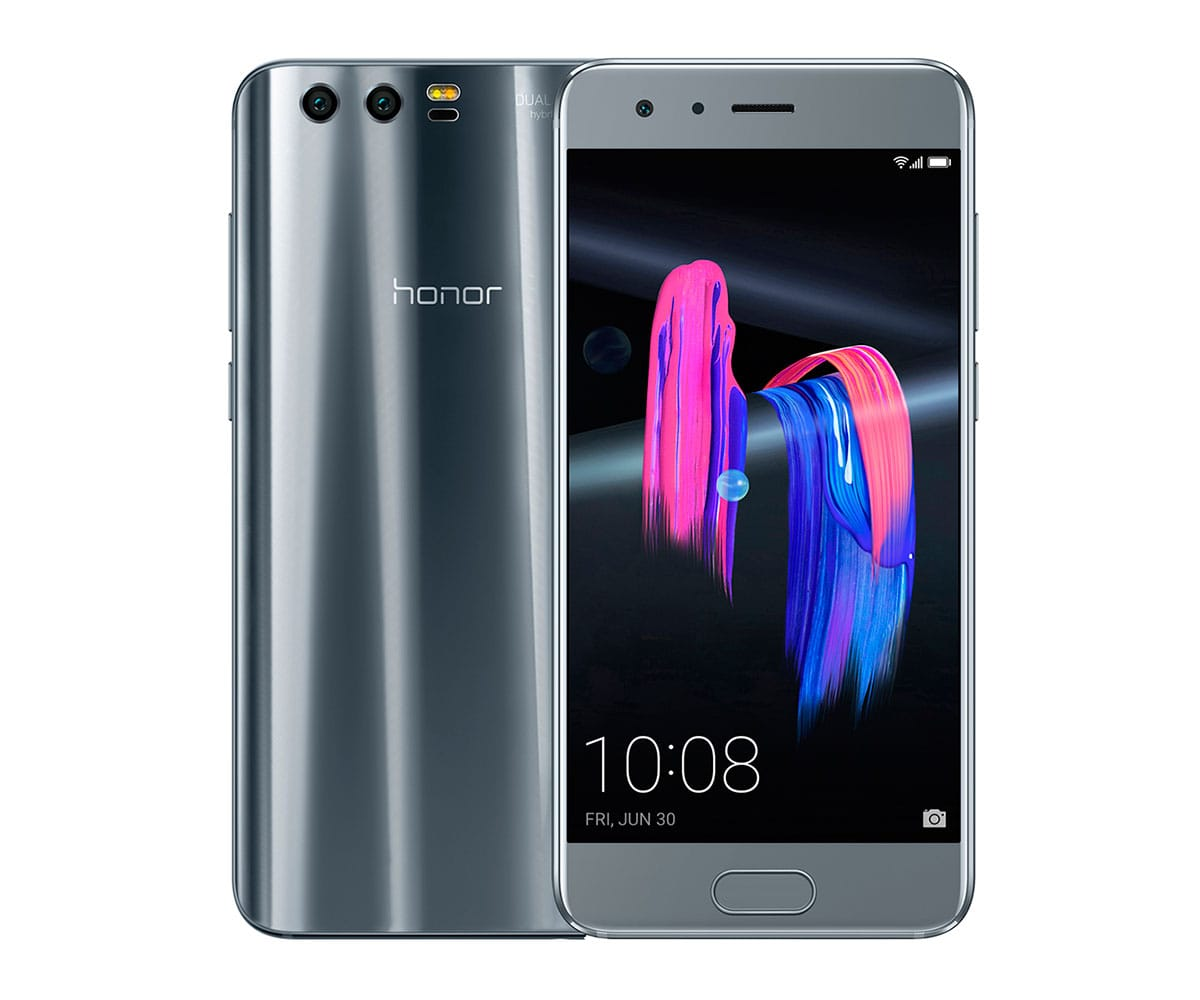 HONOR 9 PLATA MÓVIL 4G DUAL SIM 5.15 IPS FHD/8CORE/64GB/4GB RAM/20MP+12MP/8MP - 9 PLATA IMP