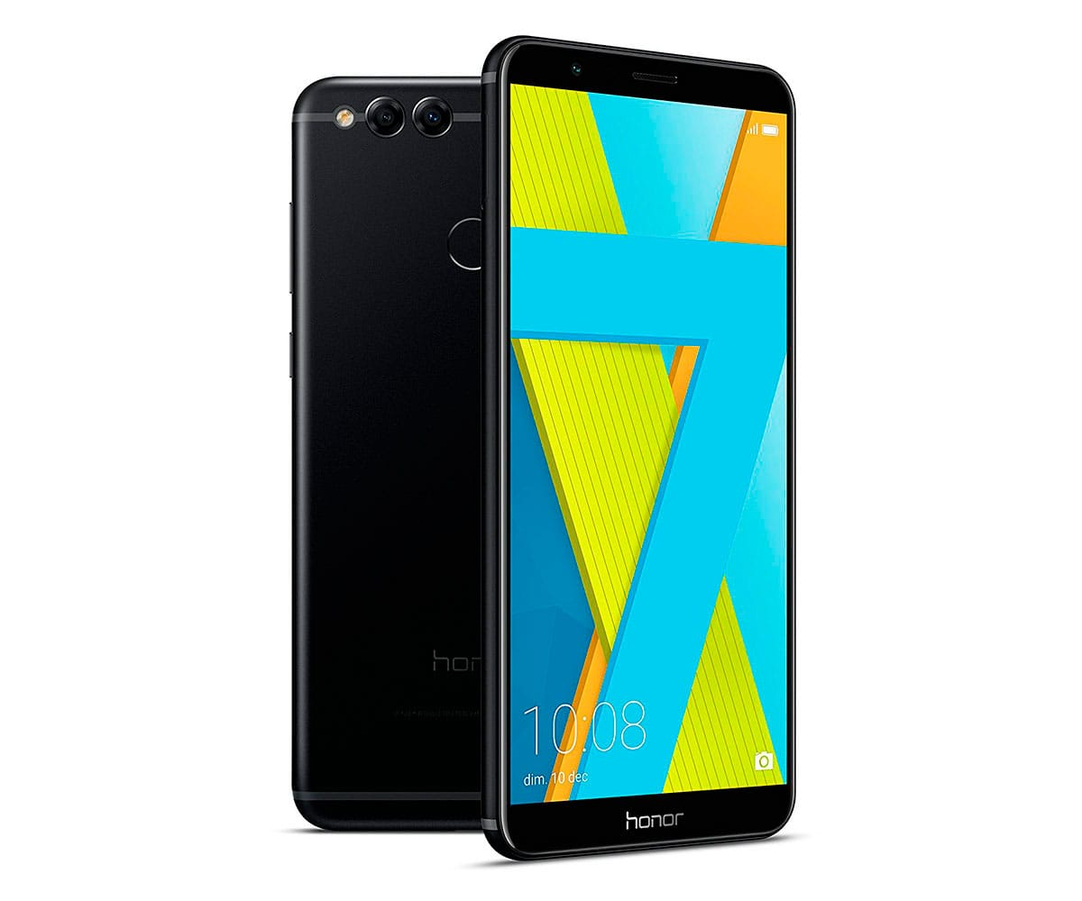 HONOR 7X NEGRO MÓVIL 4G DUAL SIM 5.93 IPS FHD+/8CORE/64GB/4GB RAM/16MP+2MP/8MP - 7X NEGRO IMP