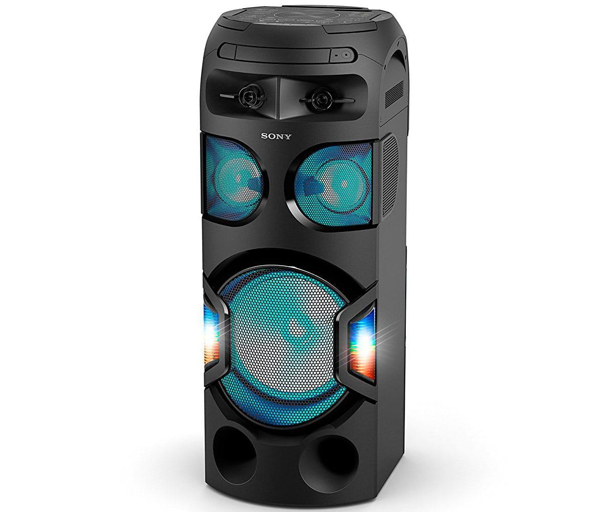 SONY MHC-V71D SISTEMA DE AUDIO DE ALTA POTENCIA NFC BLUETOOTH CONTROL DE  GESTOS LUCES DE FIESTA 360º FUNCIÓN KARAOKE JUEGO TAIKO 19af882fc9e