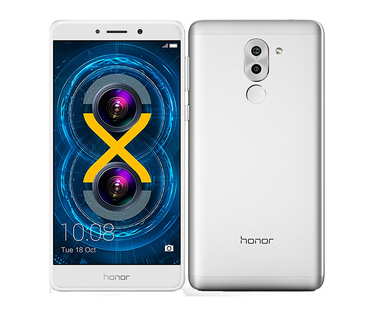 HONOR 6X PLATA MÓVIL 4G DUAL SIM 5.5'' IPS FHD/8CORE/32GB/3GB RAM/12MP+2MP/8MP