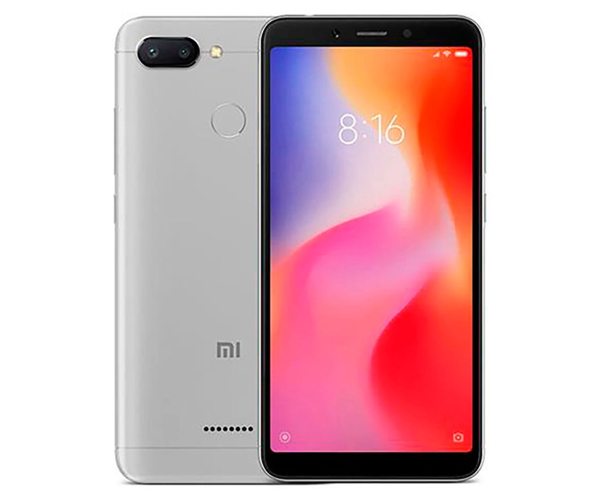 XIAOMI REDMI 6 GRIS MÓVIL 4G DUAL SIM 5.45 IPS HD+/8CORE/32GB/3GB RAM/12MP+5MP/5MP - REDMI 6 32GB GRIS