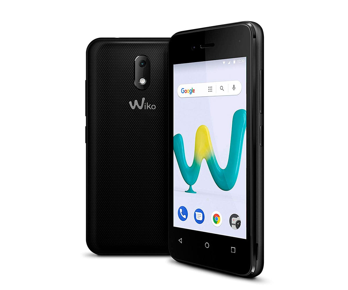 WIKO SUNNY3 MINI NEGRO MÓVIL 3G DUAL SIM 4 TFT WVGA/4CORE/8GB/512MB RAM/2MP/VGA