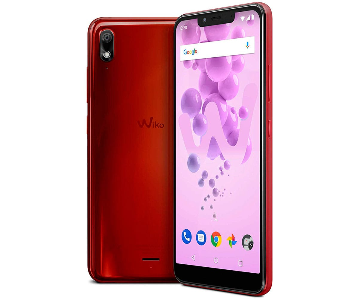 WIKO VIEW2 GO ROJO CEREZA MÓVIL 4G DUAL SIM 5.93 IPS HD+/8CORE/32GB/3GB RAM/12MP/5MP