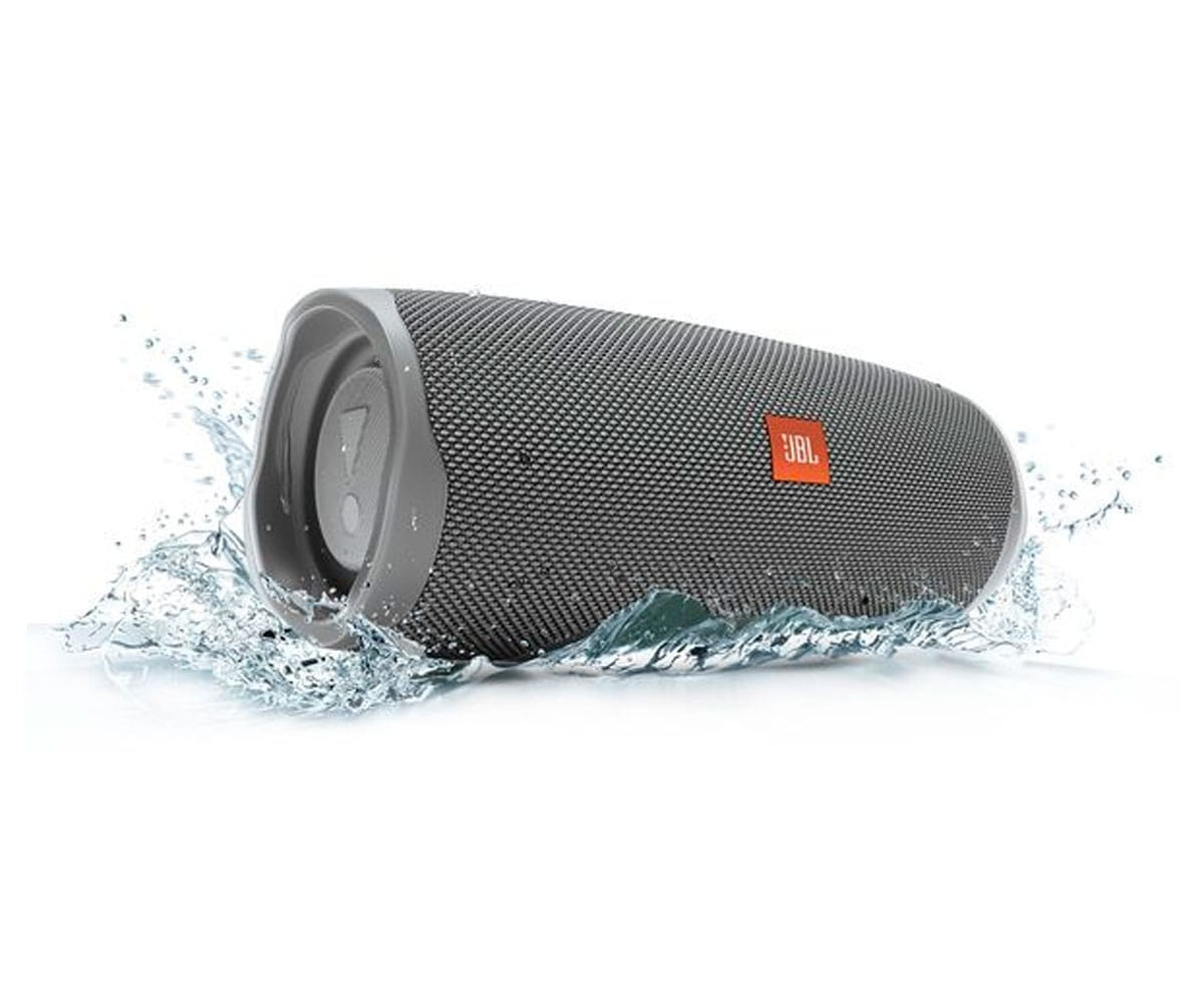 JBL CHARGE 4 GRIS ALTAVOZ INALÁMBRICO PORTÁTIL 30W BLUETOOTH IMPERMEABLE IPX7 - CHARGE 4 GREY