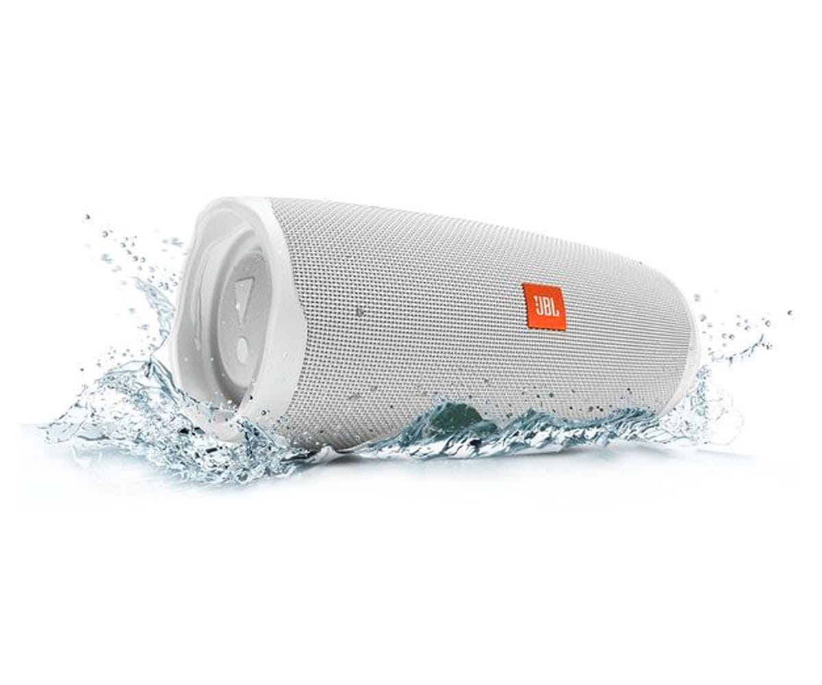 JBL CHARGE 4 BLANCO ALTAVOZ INALÁMBRICO PORTÁTIL 30W BLUETOOTH IMPERMEABLE IPX7 - CHARGE 4 WHITE