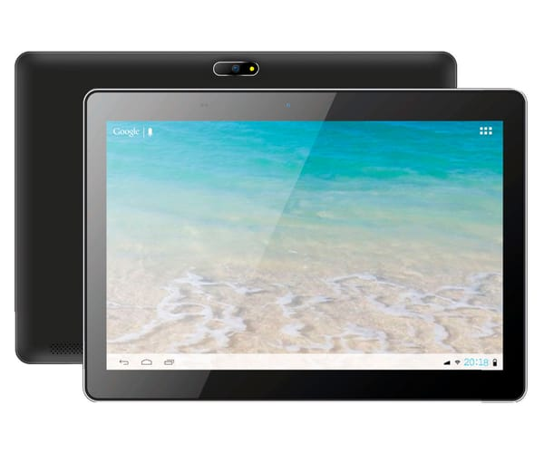 INNJOO F102 TABLET NEGRO 3G 10.1'' IPS/4CORE/16GB/1GB RAM/2MP/0.3MP