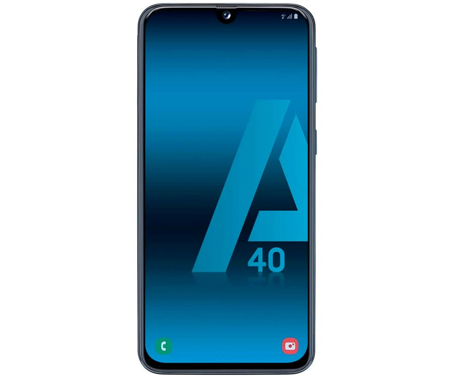 SAMSUNG GALAXY A40 AZUL MÓVIL 4G DUAL SIM 5.9'' SUPER AMOLED FHD+/8CORE/64GB/4GB RAM/16MP+5MP/25MP