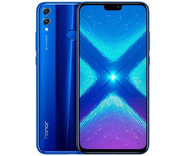 HONOR 8X AZUL MÓVIL 4G DUAL SIM 6.5'' IPS FHD/8CORE/128GB/4GB RAM/20+2MP/16MP