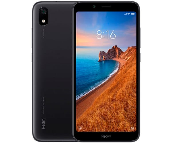 XIAOMI REDMI 7A NEGRO MATE MÓVIL 4G DUAL SIM 5.45'' HD+/8CORE/32GB/2GB RAM/12MP/5MP