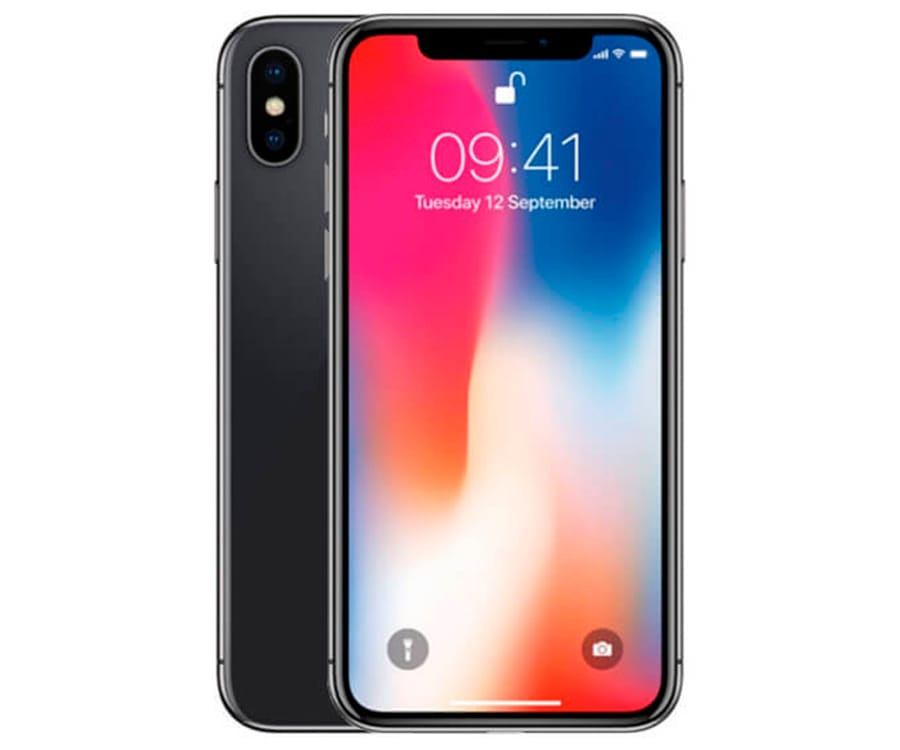 APPLE IPHONE X 64GB GRIS ESPACIAL REACONDICIONADO CPO MÓVIL 4G 5.8'' SUPER RETINA OLED HDR/6CORE/64GB/3GB RAM/12MP+12MP/7MP