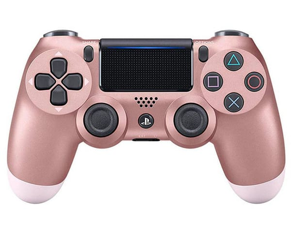 SONY DUALSHOCK 4 VERSION 2 ORO ROSA MANDO INALÁMBRICO PARA PS4
