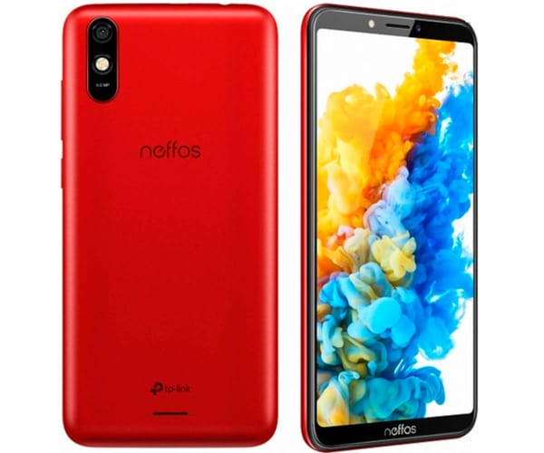 TP-LINK NEFFOS C7s ROJO MÓVIL 4G DUAL SIM 5.45'' IPS HD+/8CORE/16GB/2GB RAM/8MP/5MP