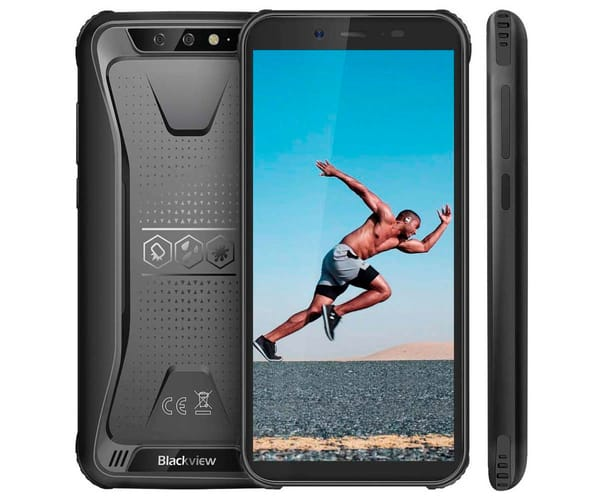 BLACKVIEW BV5500 PRO NEGRO MÓVIL RESISTENTE DUAL SIM 4G 5.5'' IPS HD/4CORE/16GB/3GB RAM/8+0.3MP/8MP
