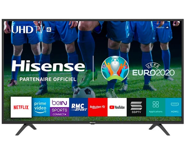 HISENSE H65B7100 TELEVISOR 65'' LCD DIRECT LED UHD 4K 1500Hz SMART TV WIFI CI+ HDMI USB REPRODUCTOR MULTIMEDIA