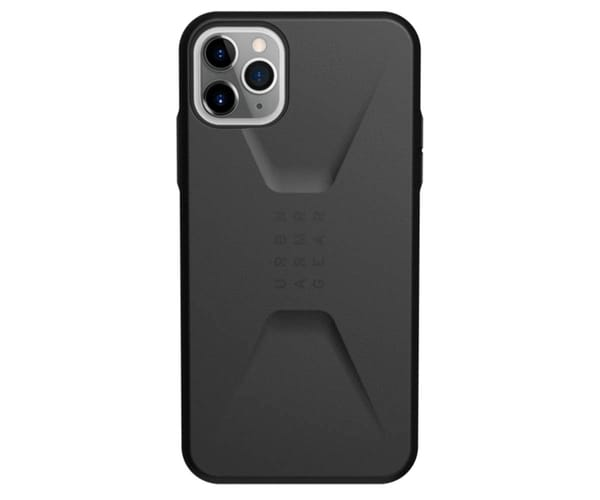 UAG CIVILIAN NEGRO CARCASA APPLE IPHONE 11 PRO MAX RESISTENTE