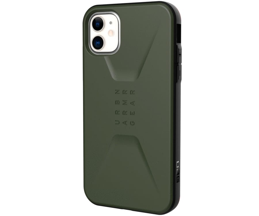UAG CIVILIAN VERDE OLIVA CARCASA APPLE IPHONE 11 6.1'' RESISTENTE